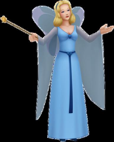 File:Blue Fairy KH3D.png