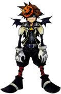 Sora- Halloween Form (Art) KH