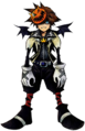 Sora- Halloween Form (Art) KH.png