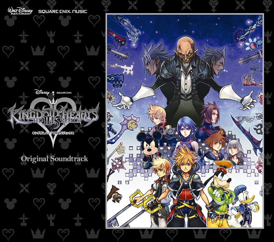 File:Kingdom Hearts HD 2.5 ReMIX Original Soundtrack Cover.png