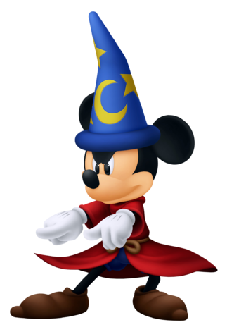 File:Mickey Mouse- Sorcerer Outfit KH3D.png