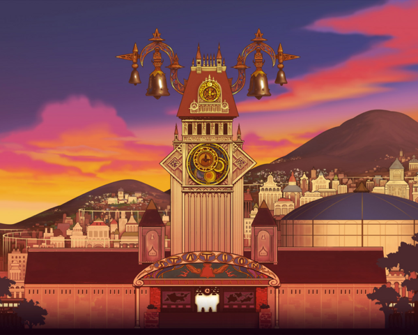 File:Twilight Town- Clock Tower (Art) KHII.png