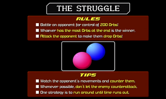 Struggle Tournament Instructions KHII