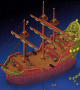 Neverland- Hook's Ship (Art) KH