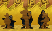 Mickey and Co. Cardboard Figures (Screenshot) KH3D