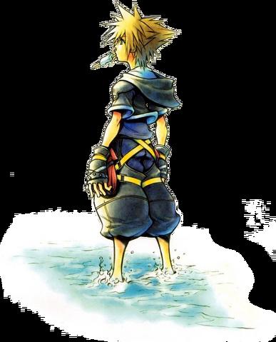 File:Sora 3 (Art) KHII.png