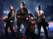 Left 4 Dead Cast