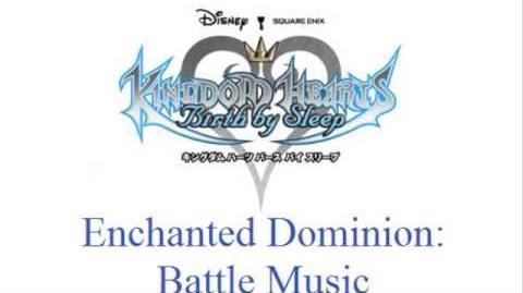 KH Birth By Sleep - Enchanted Dominion Battle Music (Blue.Nocturne)