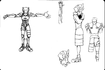 D'daear's SOS Armor (Uncolored)