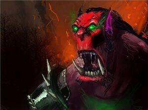 Crimson Orc