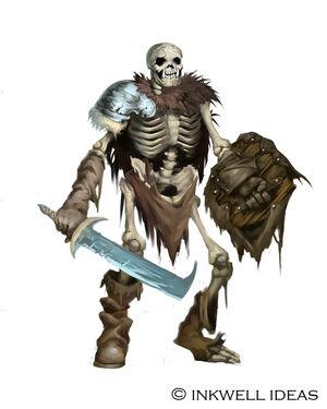 Skeleton Orc