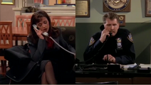 Episode 1x17 - Carrie on phone with on duty Jeffrey