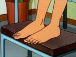 Peggy's Full Size Feet