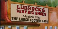 Lubbocks Very Big Shoes