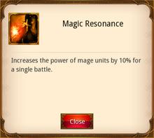 Magic Resonance