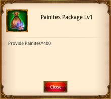 Painites Package level 1