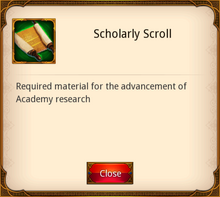 Scholarly Scroll