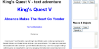 King's Quest V: The Text Adventure