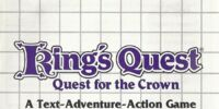 King's Quest: Quest for the Crown User's Manual (SMS)