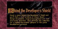 Behind the Developer's Shield