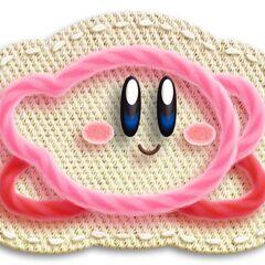 Kirby agachandose