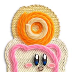 Si se deja presionado <i><b>1</b></i> un poco más lento, entonces Kirby cargará el objeto o enemigo en lugar de deshacerlo.