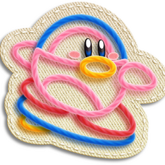 Kirby con forma <a href=