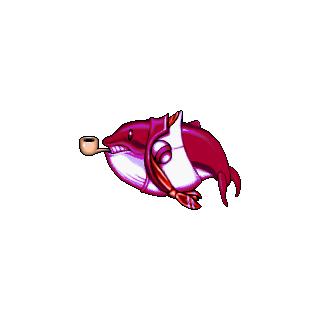 Gran Ballena roja.