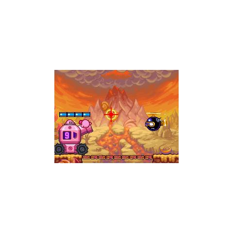 Bombpeller volando hacia los Kirbys.