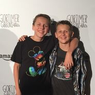 Jacob Bertrand and his brother