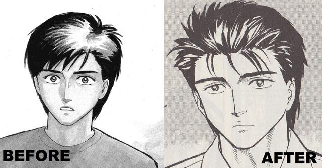 File:Shinichi Izumi Manga Before After.png