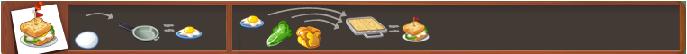 Fried egg-sandwich
