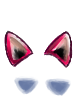 Kitsune ears pink collection