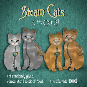 KittyCatS! SteamCats!
