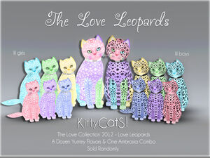 Love Leopards - Love Collections KittyCatS