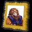 Lion portrait collectable doober