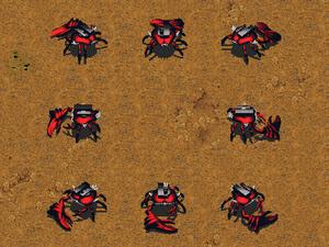 KKnD Ingame Missile Crab