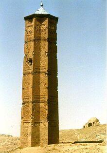 Ghazni (Ghaznavid monDaq) Minaret.jpg