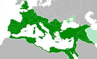 Roman Empire 117 AD