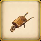 Wheelbarrow framed