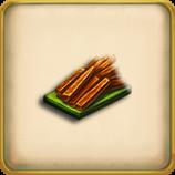 Carrot sticks framed