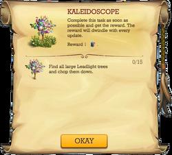 Kaleidoscope quest