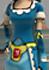 Clo-Blue corset