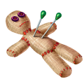 Coll terrible voodoo doll