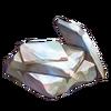 Processed white nephrite