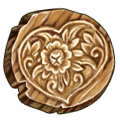 Coll coins wooden