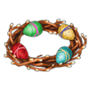 Coll easter wreath