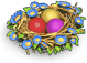 Chicken nest easter
