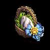 Rare egg tiger basket