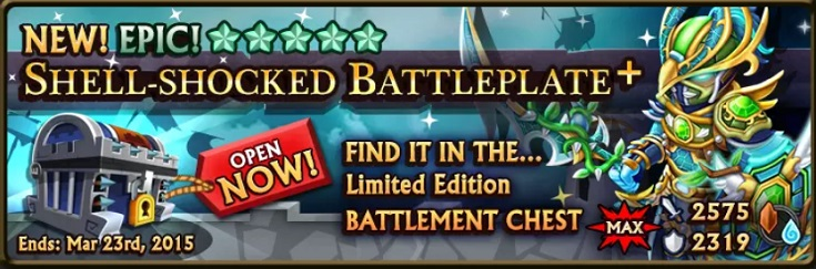 Battlement Chest Banner